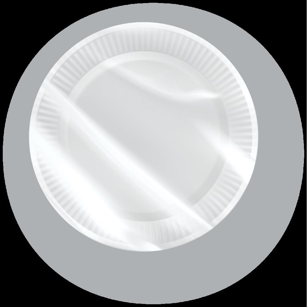 ... Paper plates size L-50 pieces ... & Paper plates size L - 50 pcs - vi-GO